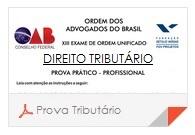 X Exame OAB - Prova Direito Tributário